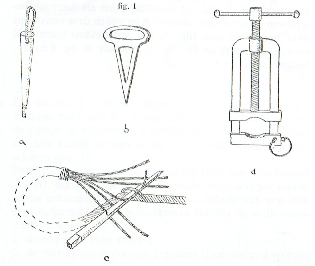 Staaldraadsplitsen-1 gereedschap