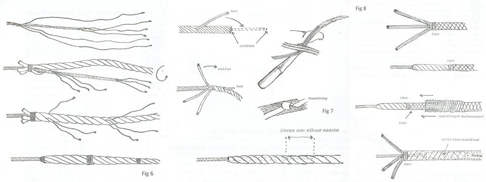 Staaldraadsplitsen-5 splitsen aan touwwerk 3